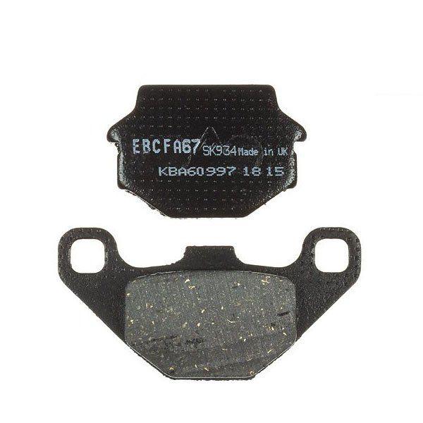 Pastillas de Freno EBC Organico FA067