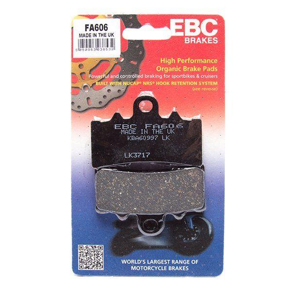 Pastillas de Freno EBC organico FA606