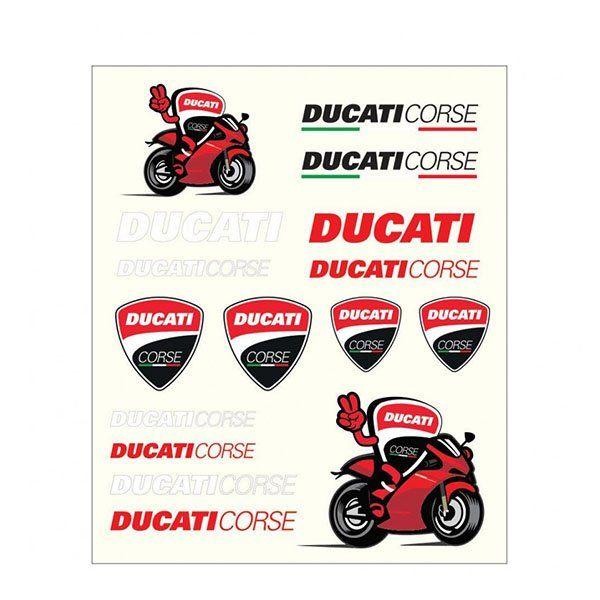 Pegatinas Ducati Multicolor