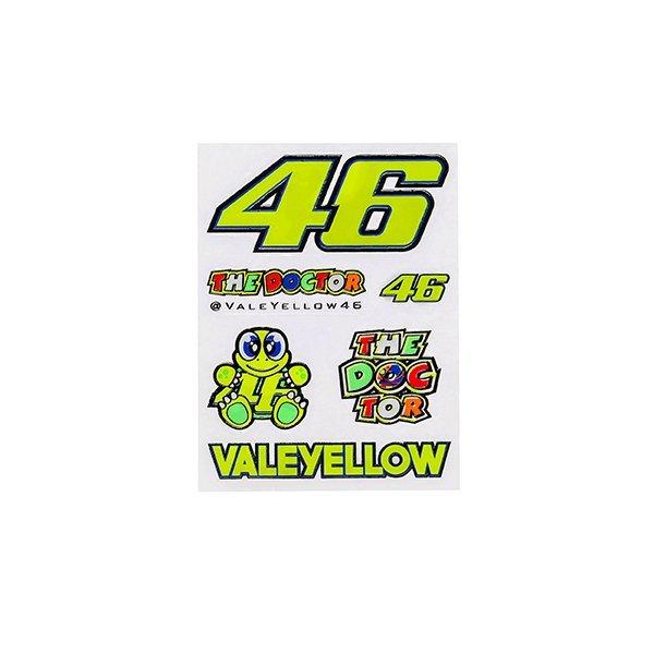 Pegatinas Valentino Rossi Pequeñas.