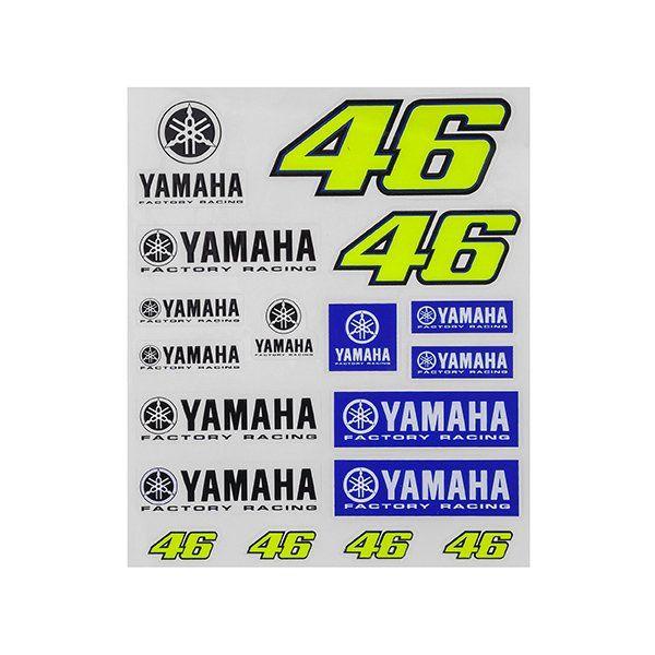 Pegatinas Valentino Rossi Yamaha