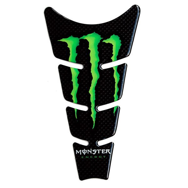 Protector Deposito M 3D Carbon monster 21x11.5cm