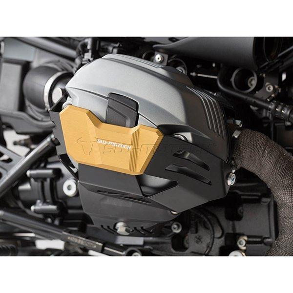 Protector de cilindro SW Motech R Nine T dorado2