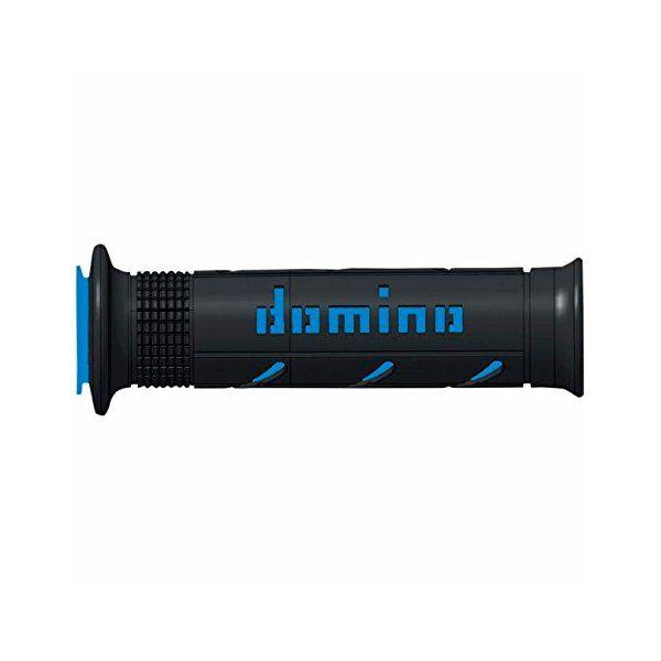 Puño Carretera Domino XM2 Negro Azul
