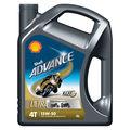 Shell Advance Ultra 4T 15W50 4L