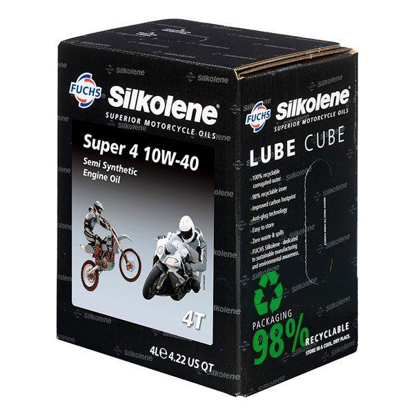 Silkolene Super 4 10W40 4L