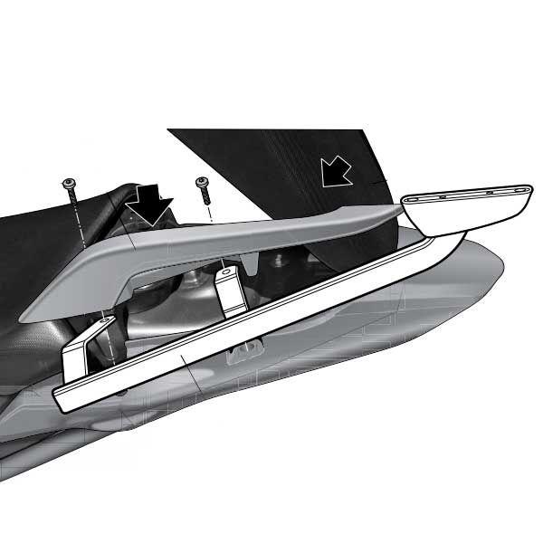 Soporte Baul Shad Para Honda Integra 700 H0NT73ST