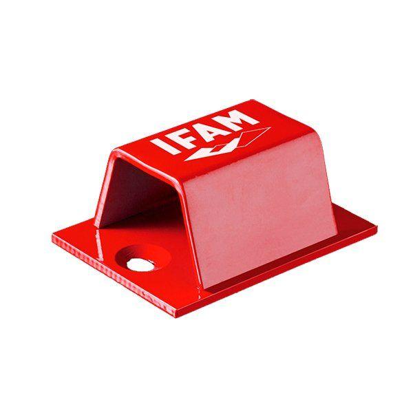 Soporte Candado Ifam Stop Go Rojo