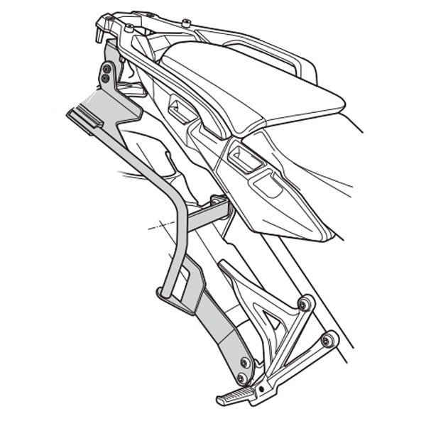 Soporte Maletas laterales Shad para Honda Africa T