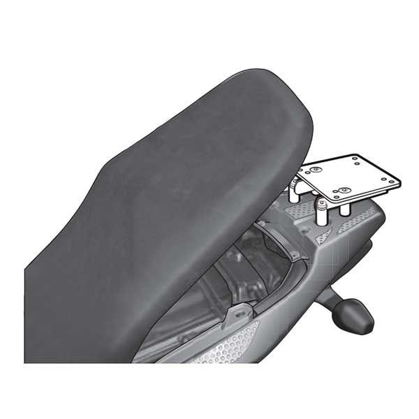 Soporte baul Shad Para Honda Transalp 700 H0TR78ST