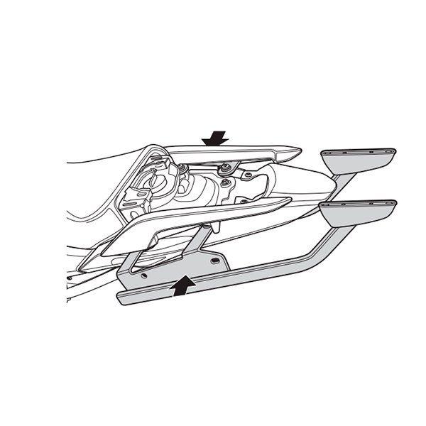 Soporte de maleta Shad Honda NC750 H0NT74ST