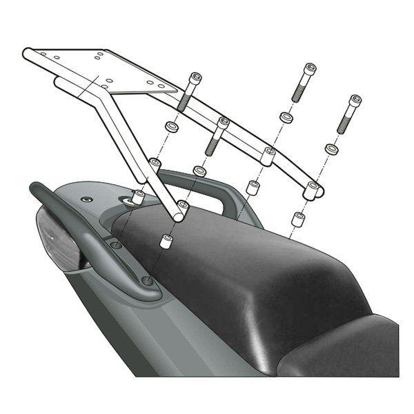 Soporte de maletas Shad CBF 600 H0CB64ST