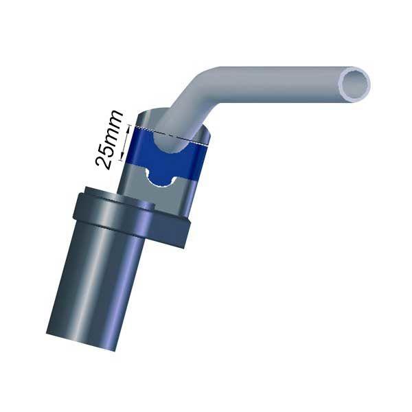 Torreta Espaciadora LSL 28.5x28.5 25mm Plata