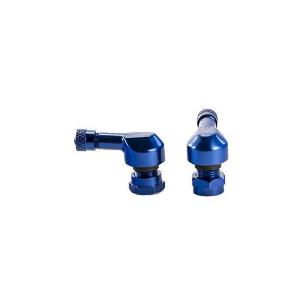 Valvulas de rueda Puig azules 8mm