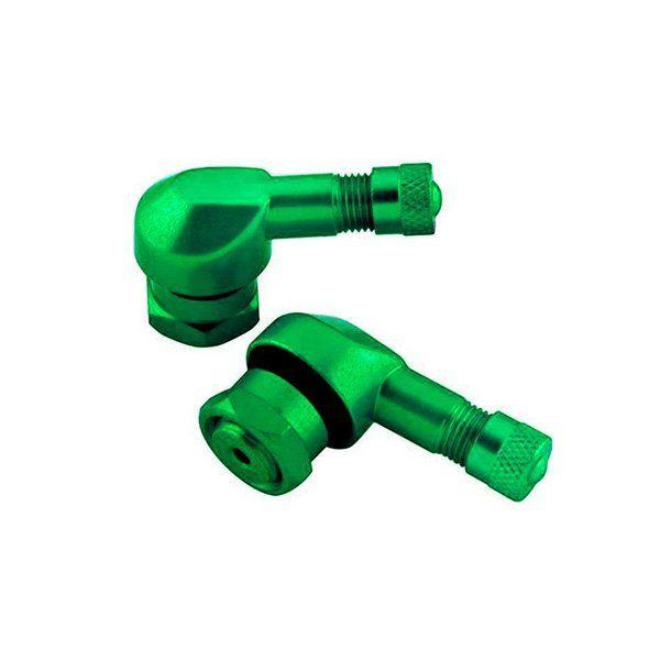 Valvulas de rueda Puig verdes 8mm