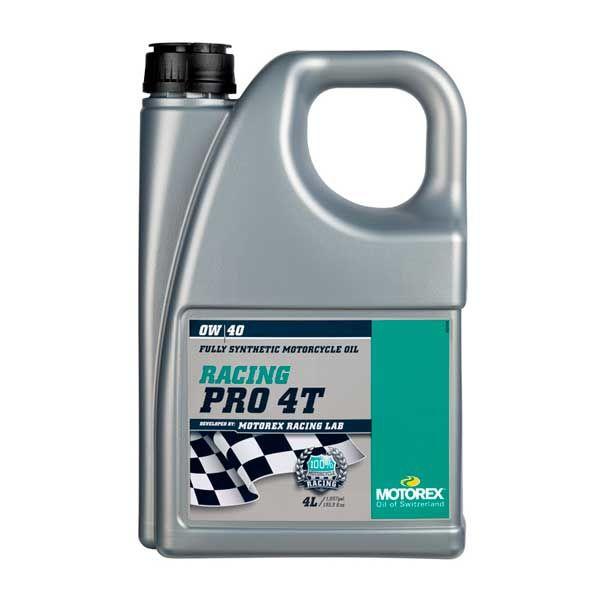 Motorex 0W40 Racing Pro 4T 4L